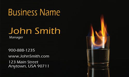 Night Club and Bar Business Card - Design #1001021