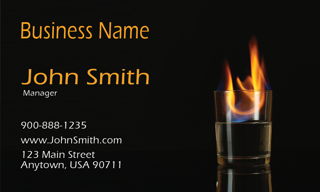 Club and Bar Business Card - Design #1001021