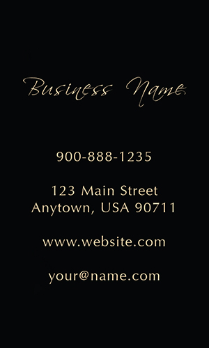 Wine Expert Black Vertical Business Card - Design #1001241