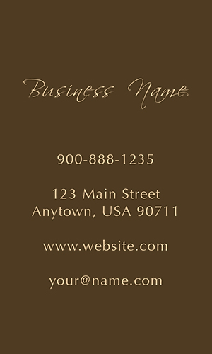 Wine Expert Vertical Business Card - Design #1001243