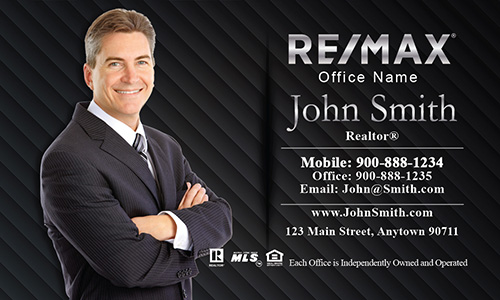 Remax Broker Associate Business Card - Design #101061