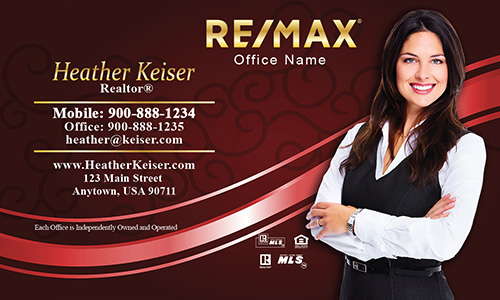 Unique Remax Realty Business Cards - Design #101114