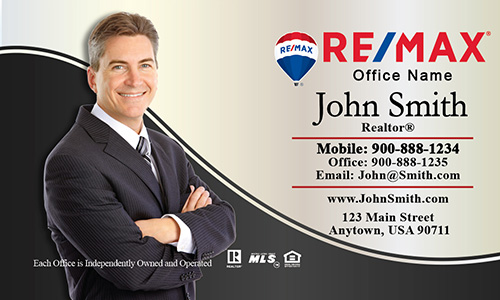 Stylish remax realtor business card design 101291 elegant plain with personal photo remax business card design 101131 cheaphphosting Choice Image