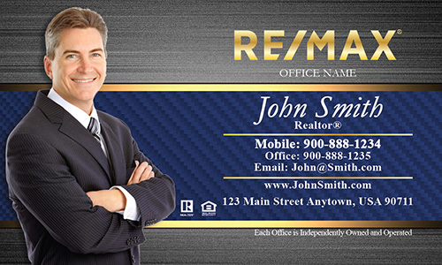 Remax Business Card with Agent Photo - Design #101182