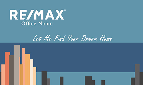 City View Remax Real Estate Business Card - Design #101201