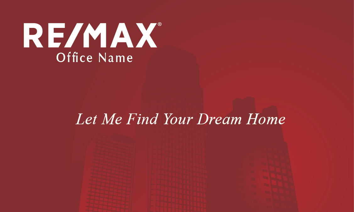 New York Style Remax Business Card - Design #101251