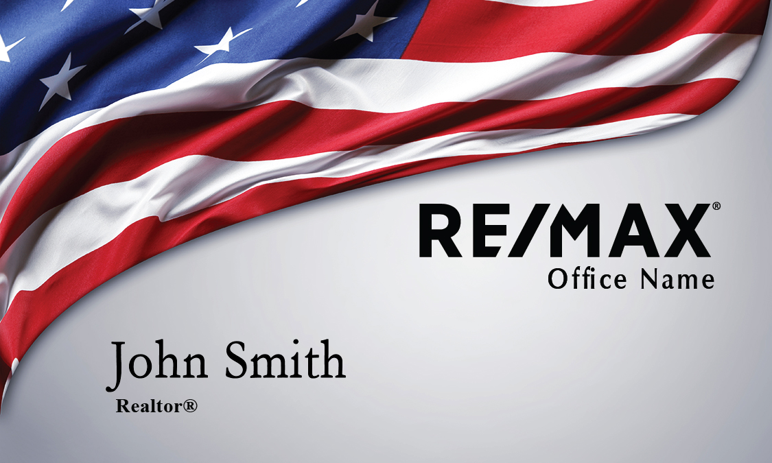 Flag Remax Business Card - Design #101261