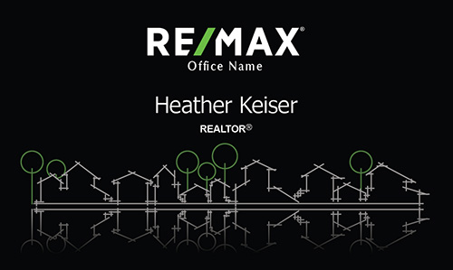 Stylish Remax Realtor Business Card - Design #101291