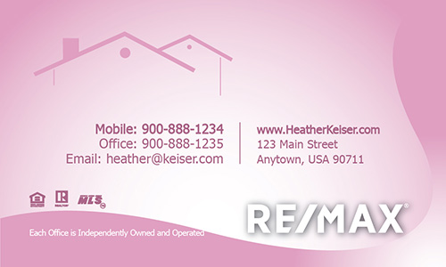 Pink remax business card design 101361 cute pink remax business card design 101361 fbccfo Image collections