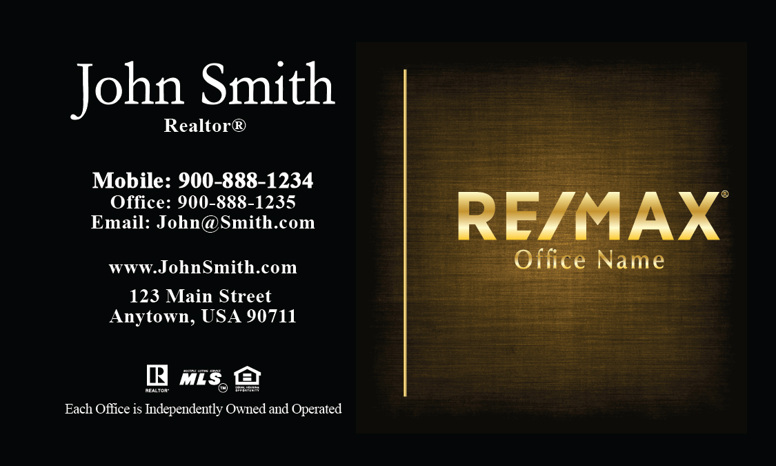 Remax realtor business card templates online free shipping elegant colourmoves
