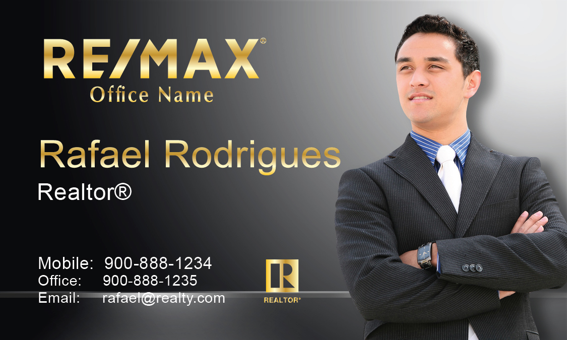 Gray remax business card design 101501 colourmoves