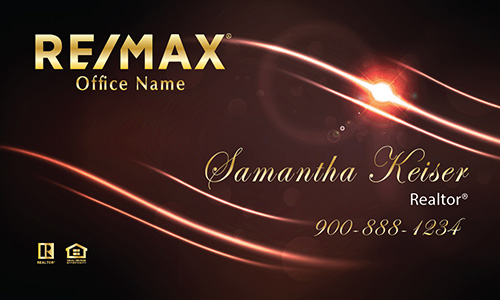 Red Remax Business Card - Design #101522