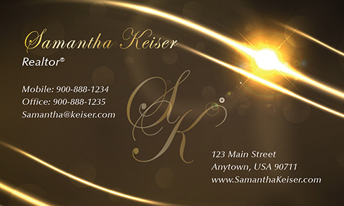 Brown Remax Business Card - Design #101523