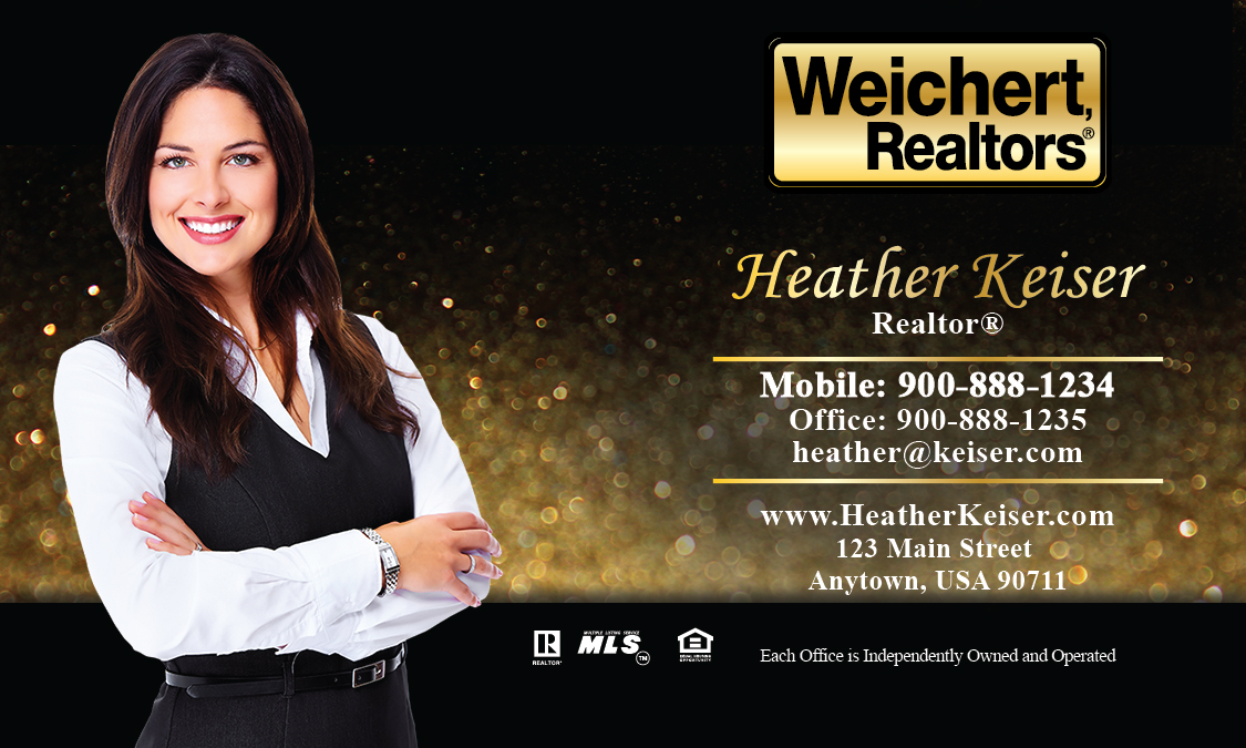 Weichert Realtors Business Card Template | PrintifyCards