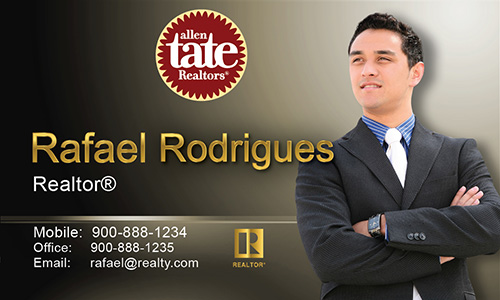Brown Allen Tate Realtors Business Card - Design #118041