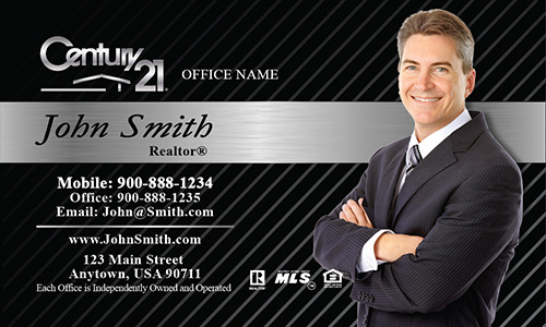 Century Business Card Design - Century 21 business cards template