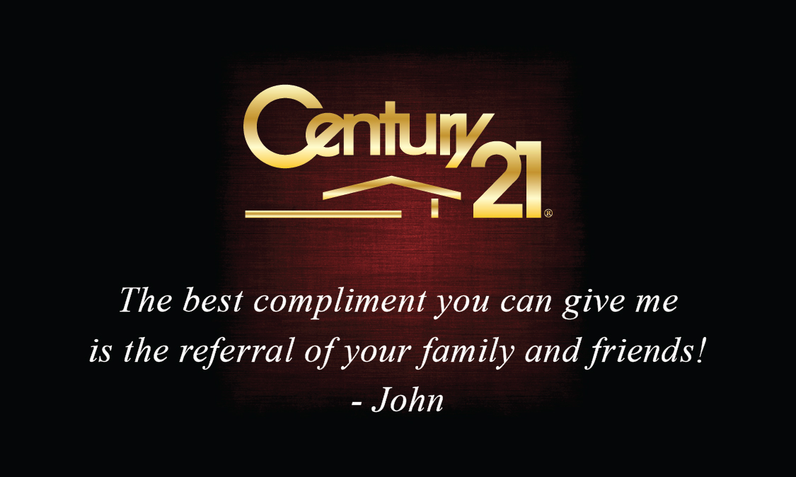 Century 21 Realty Business Card Design