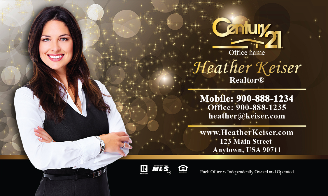 Century 21 Business Card - Design #102421