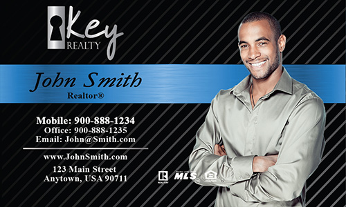 Black Key Realty Business Card - Design #122021