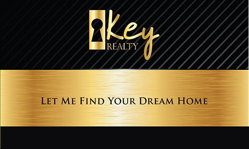 Black Key Realty Business Card - Design #122031