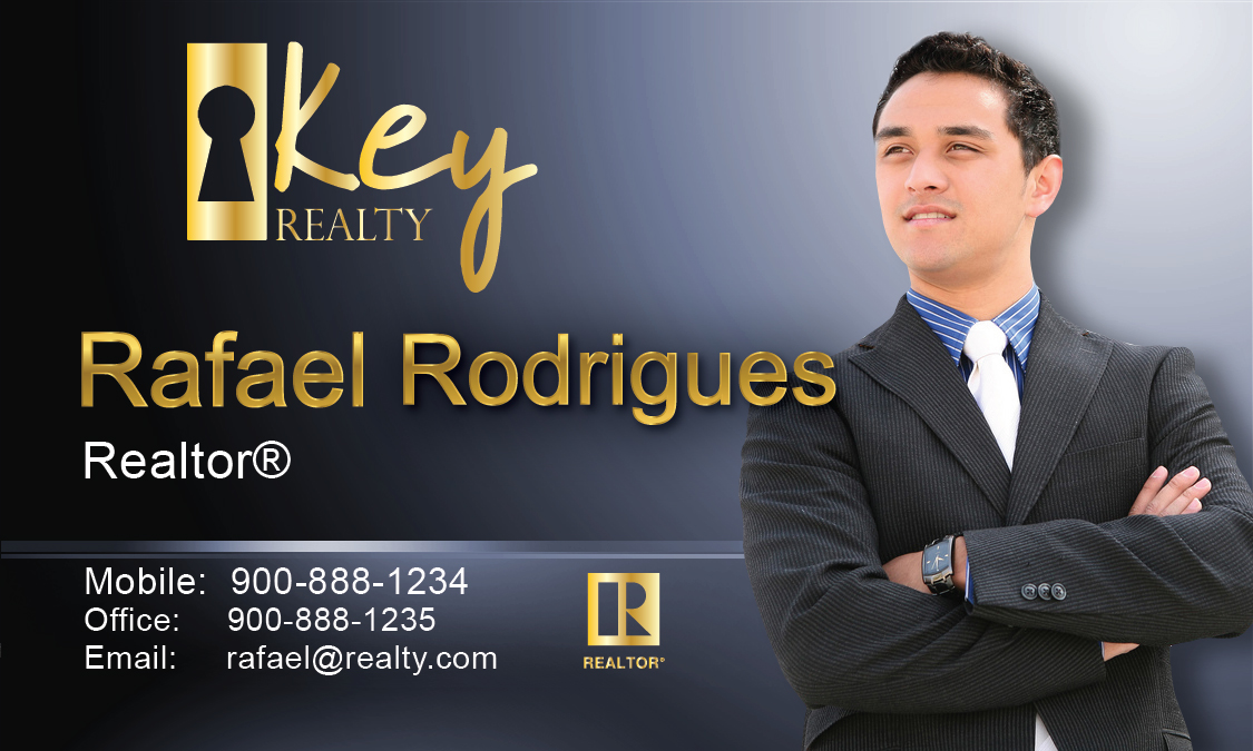 Key Realty Business Card - Design #122041
