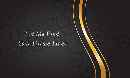 Black Key Realty Business Card - Design #122061
