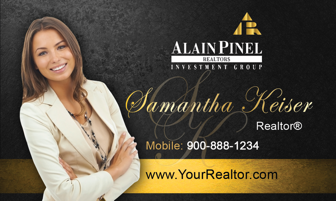Alain pinel realtors business card design 123041 black alain pinel realtors business card design 123041 colourmoves Gallery