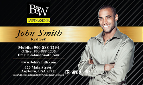 Black Baird Warner Business Card - Design #125021