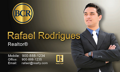 Brown BCR Realtors Business Card - Design #127033