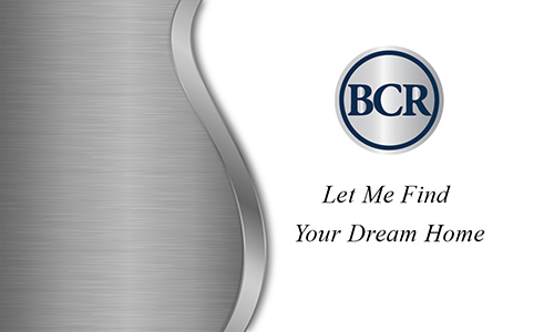Gray BCR Realtors Business Card - Design #127052