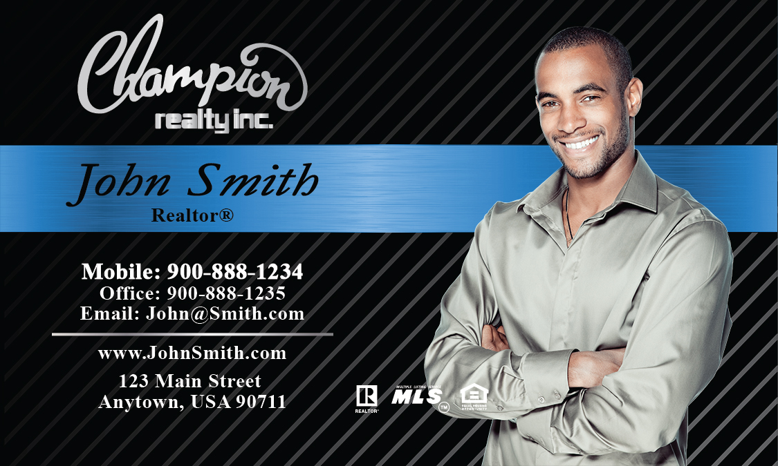 Champion Realty Business Cards Online| PrintifyCards