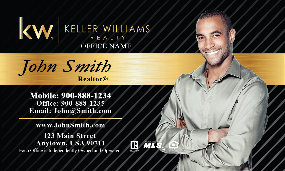 Keller williams realty business card templates online free ship keller reheart Gallery