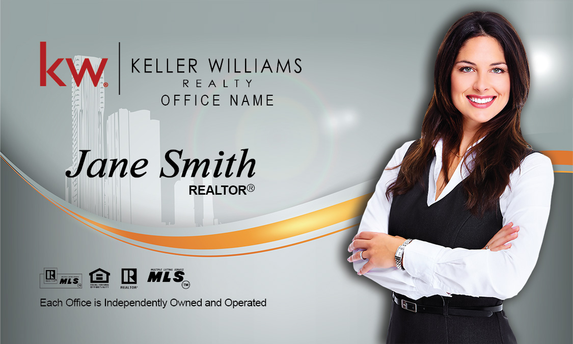 Keller williams real estate broker business card design 103161 friedricerecipe Gallery
