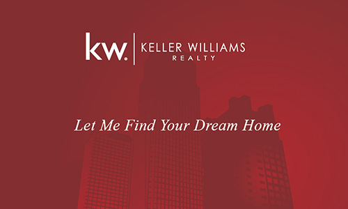 New York Style Keller Williams Business Card - Design #103251