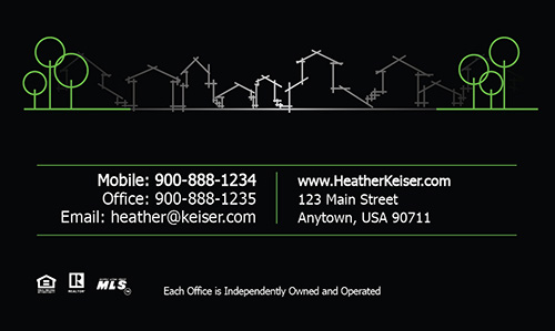 Keller Williams Realtor Business Card - Design #103291