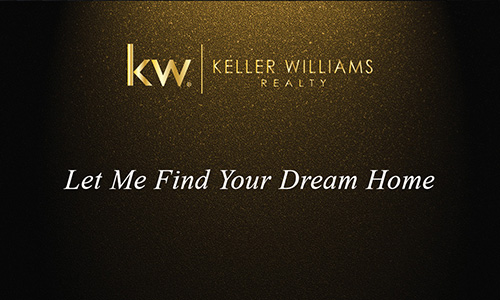 Gold KW Agent Business Card - Design #103314