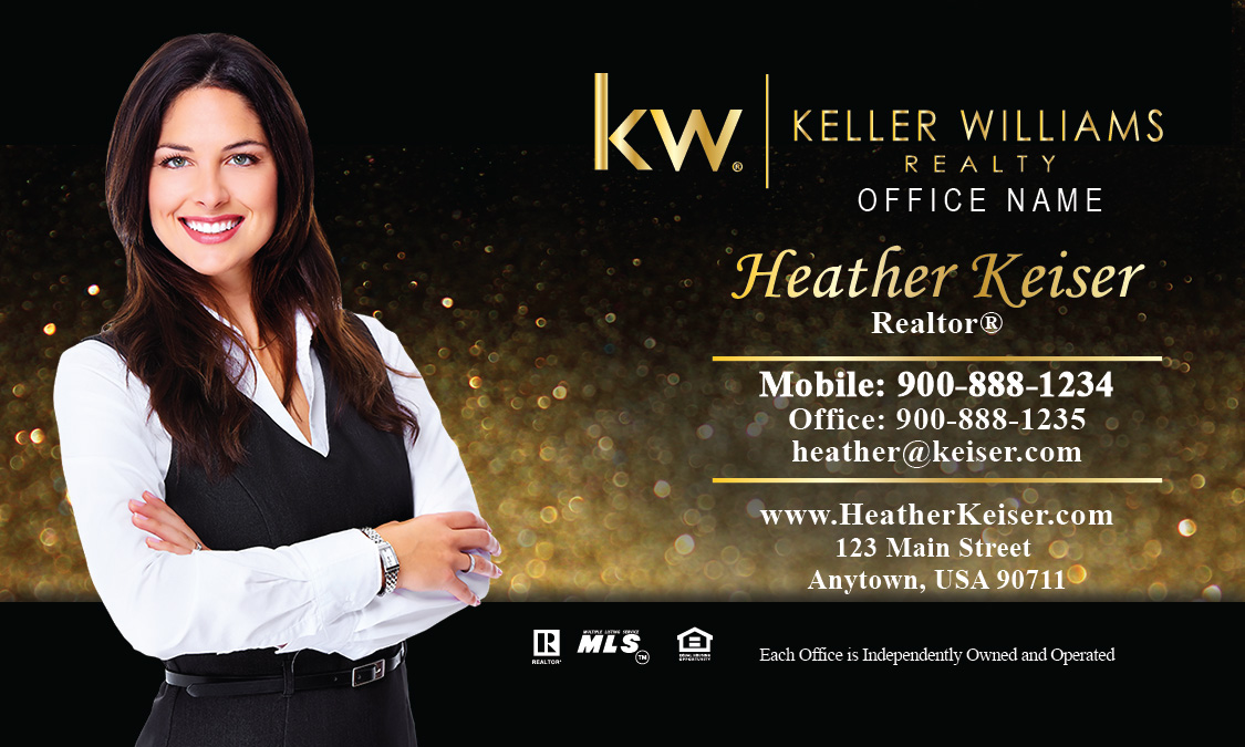 Keller williams realty business card templates online free ship keller fbccfo