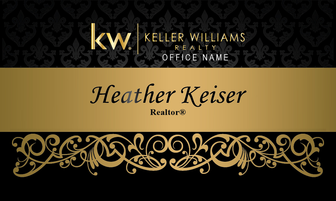 Keller Williams Realty Business Card Design