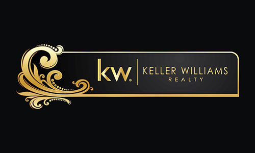 Black Keller Williams Business Card - Design #103481