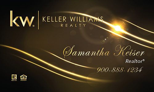 Brown Keller Williams Business Card - Design #103512
