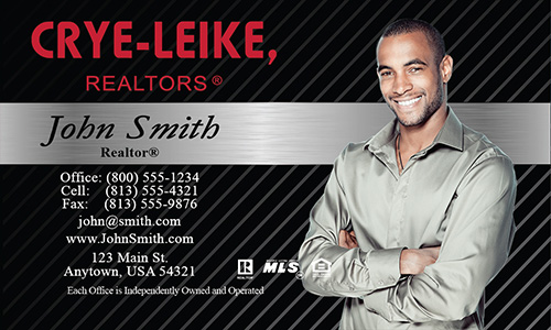 Gray Crye Leike Realtors Business Card - Design #134022