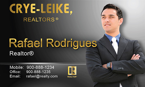 Gray Crye Leike Realtors Business Card - Design #134032