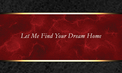 Red Crye Leike Realtors Business Card - Design #134051