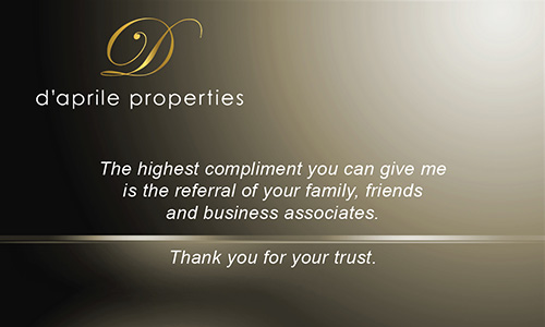 Brown Daprile Properties Business Card - Design #135032