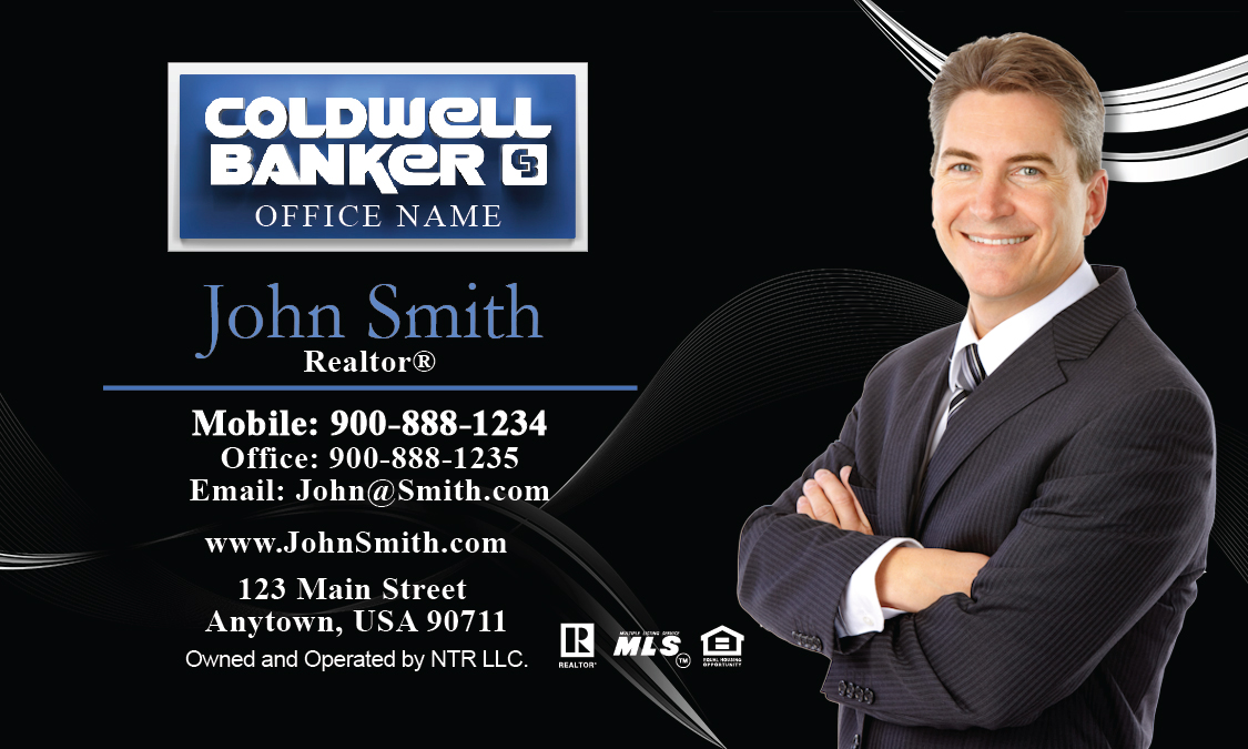 Coldwell banker business card with agent head shot black design coldwell banker business card with agent head shot black design 104121 colourmoves