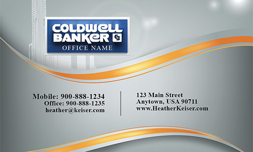 Coldwell Banker Real Estate Broker Business card - Design #104161