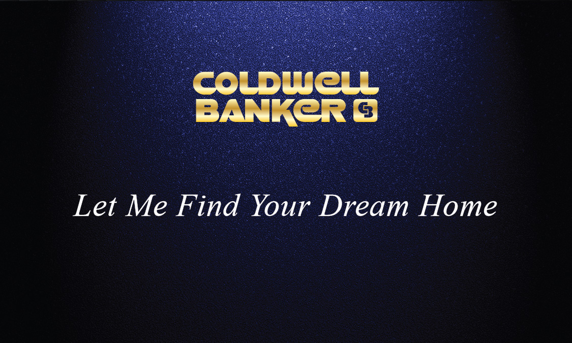 Coldwell Banker Realtor Business Card Gold and Blue ...