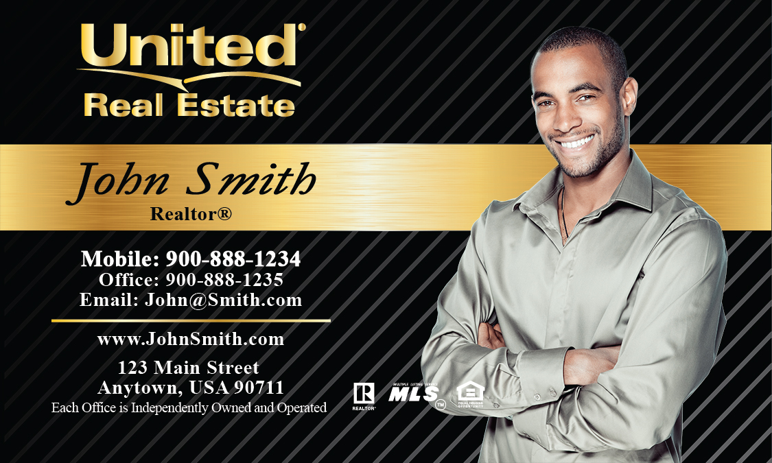 United real estate business cards printifycards black united real estate business card design 141022 colourmoves