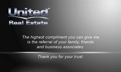 United Real Estate Business Cards