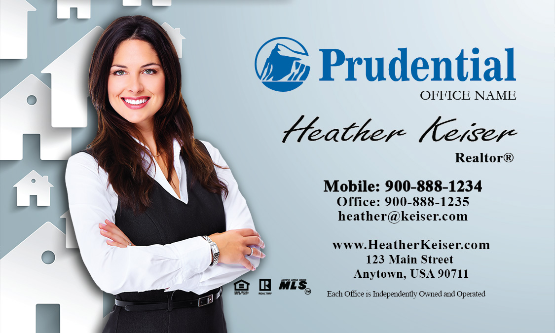 Prudential Mortgage Specialist Business Card - Design #105171